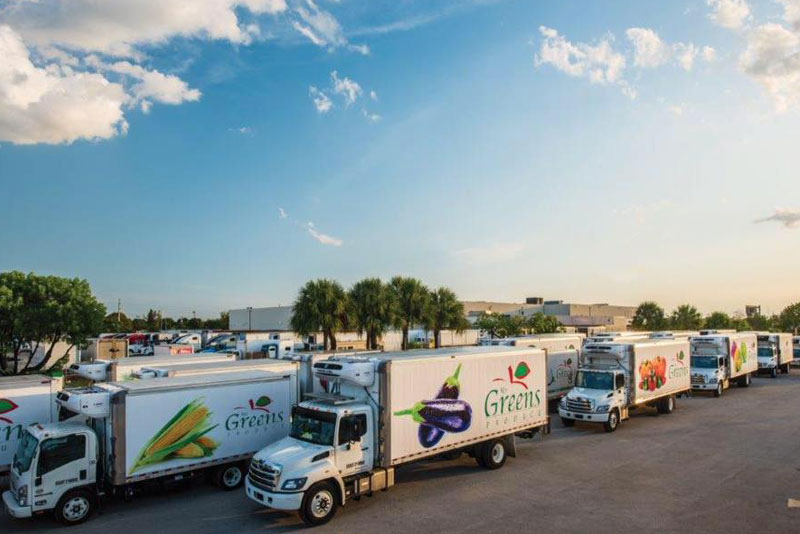 Our Fleet of Refrigerated Trucks